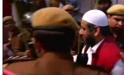 Aam Aadmi Party MLA Amanatullah Khan surrenders at Jamia