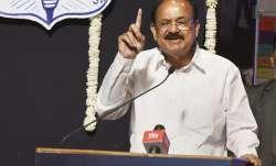 Vice President Venkaiah Naidu speaking in Mumbai at the RA