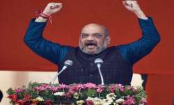 File photo of BJP president Amit Shah.
