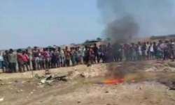 Indian Air Force plane crashes near Jharkhand border in