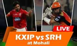 Live Cricket Streaming, KXIP vs SRH