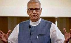 File photo of Union minister Yashwant Sinha.