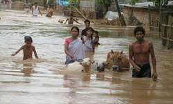 Assam Floods representational image