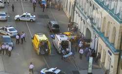 Police in Moscow say at least seven people have been