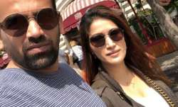 Lovebirds Sagarika Ghatge And Zaheer Khan are on another