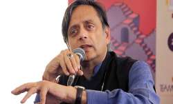 Congress leader Shashi Tharoor.