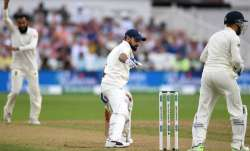 India captain Virat Kohli fell three runs short of a