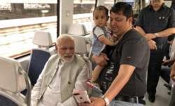 Pm Modi took metro from Dhaula Kuan to Dwarka en route