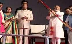 Dussehra 2018 celebrations LIVE: PM Modi burns effigy of