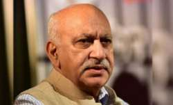 Akbar on Wednesday had tendered his resignation after