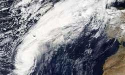 Hurricane Leslie.