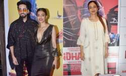 The AndhaDhun cast is basking in success ever since its