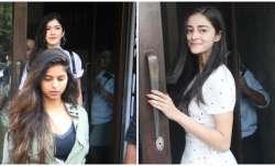 Suhana Khan, Shanaya Kapoor and Ananya Panday are BFFs.