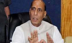 Union Home Minister Rajnath Singh.