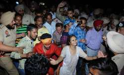 Amritsar traina accident: The train was going from