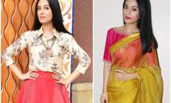 Thackeray actress Amrita Rao is pro at pulling off