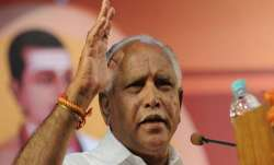 BSY's remarks came after four dissident Congress MLAs on