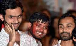 Police also charged former JNU students Umar Khalid and