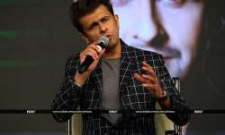Popular singer Sonu Nigam graced India TV's mega conclave