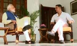 Prime Minister Narendra Modi and Bollywood superstar Akshay