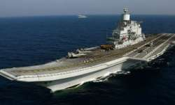 Fire onboard naval ship INS Vikramaditya, 1 officer dead
