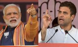 Prime Minister Narendra Modi and Rahul Gandhi