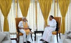 Prime Minister Narendra Modi with Vice-President M Venkaiah