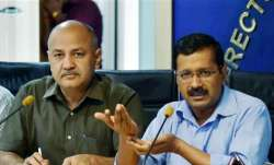 Arvind Kejriwal and Manish Sisodiya