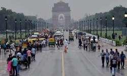 Met dept predicts light rain in Delhi on Monday