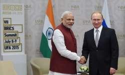 Prime Minister Narendra Modi with Russian President