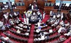 A view of Rajya Sabha