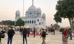Workers race against time to complete Kartarpur Sahib