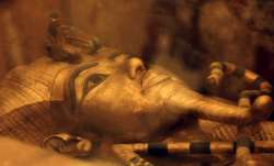Egyptian King Tut's coffin