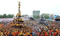 Dahi-Handi ritual