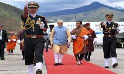 PM Modi holds talks with his Bhutanese premier Lotay
