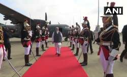 PM Modi arrives in Biarritz for G7Summit
