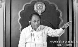 Who was former Andhra Pradesh Speaker Kodela Siva Prasada