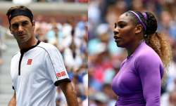 Roger Federer and Serena Williams