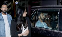 Athiya Shetty and KL Rahul were papped on a dinner date.