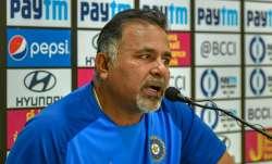 India's bowling coach Bharat Arun