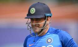 MS Dhonihas been away from international cricket since
