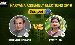 Sonipat Result Live: Congress leads