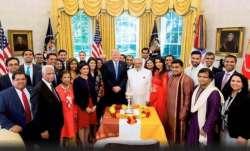 Trump to celebrate Diwali at White House on Thursday.