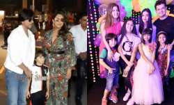 Shah Rukh Khan's son Abram, Karan Johar's kids and others attend Aaradhya's birthday bash
