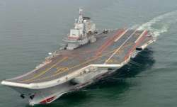 China sails 1st indigenous aircraft carrier through Taiwan Strait