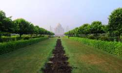 Taj Mahal view from Mehtab Bagh