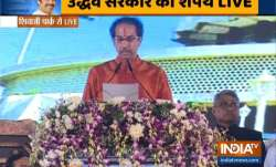 BREAKING: Uddhav Thackeray takes oath as Maharashtra CM