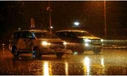 Delhi rains flights diverted