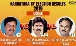 Karnataka Legislative Assembly by-election 2019 Gokak results counting of votes