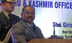 Has Jammu and Kashmir Lieutenant Governor GC Murmu resigned?